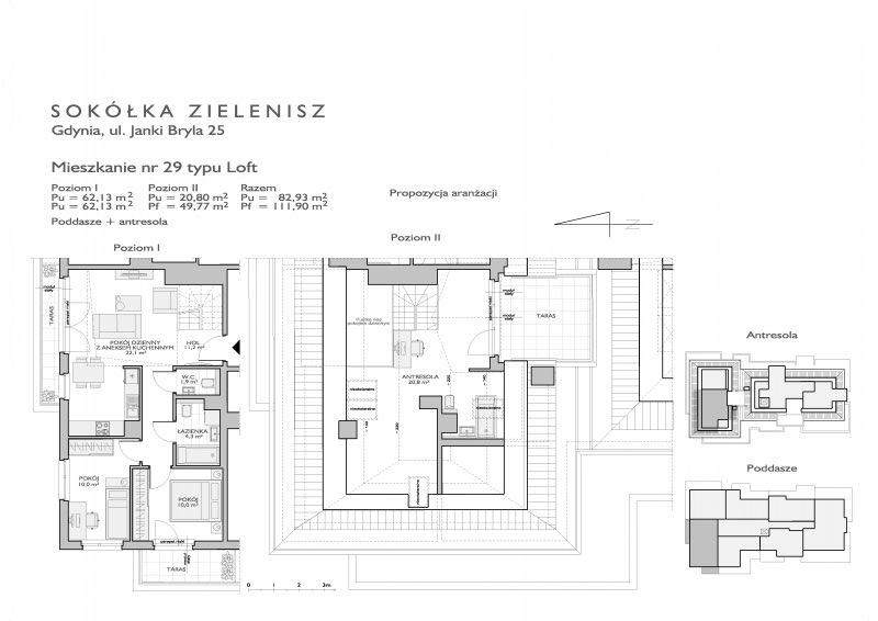 Karta lokalu Gdynia, ul. Janki Bryla nr 14/29