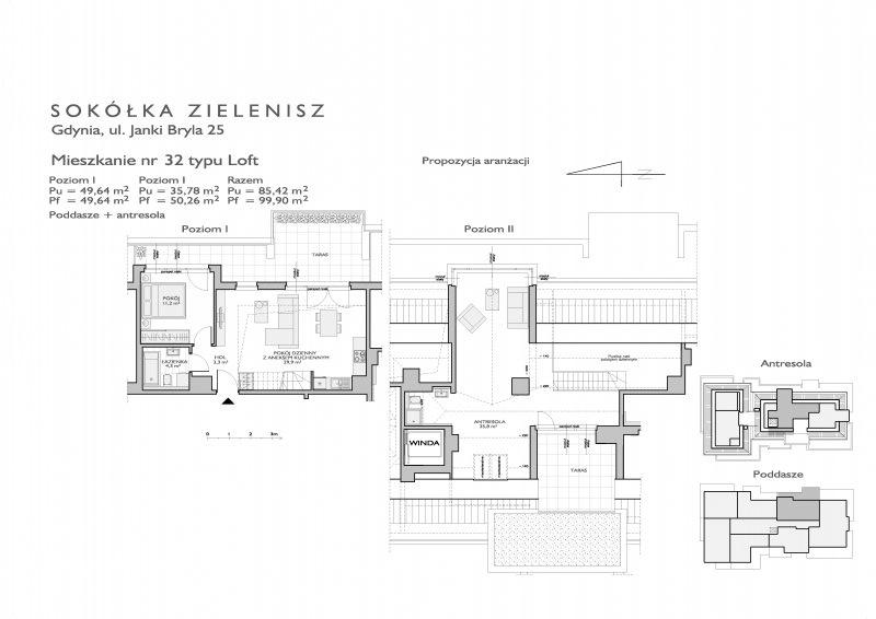 Karta lokalu Gdynia, ul. Janki Bryla nr 14/32